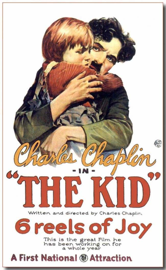 Charles Chaplin's The Kid released in 1921.