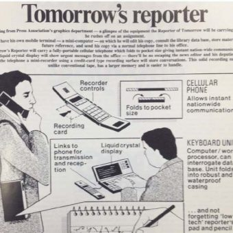 In 1985 The Press Association Presented The Future of Journalism