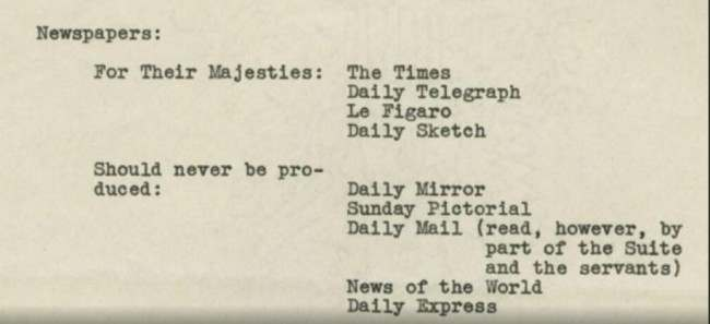 1939 memo newspapers