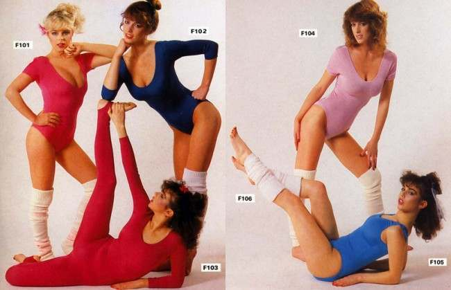 Fashion look of the eighties 34