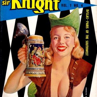 Ballsy Boozing Babes Of 1960s Men's Magazines – 23 Of Them
