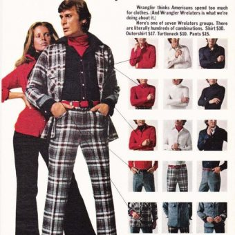 Drive the Chicks Wild! Vintage Menswear Adverts