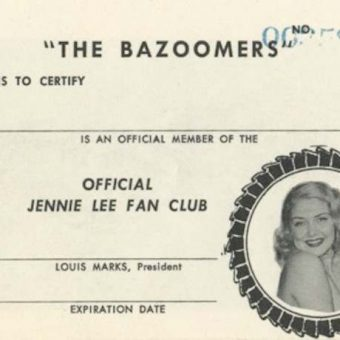 'THE BAZOOMERS': Fans Of 1950s Stripper Jennie Lee Got All They Bargained For
