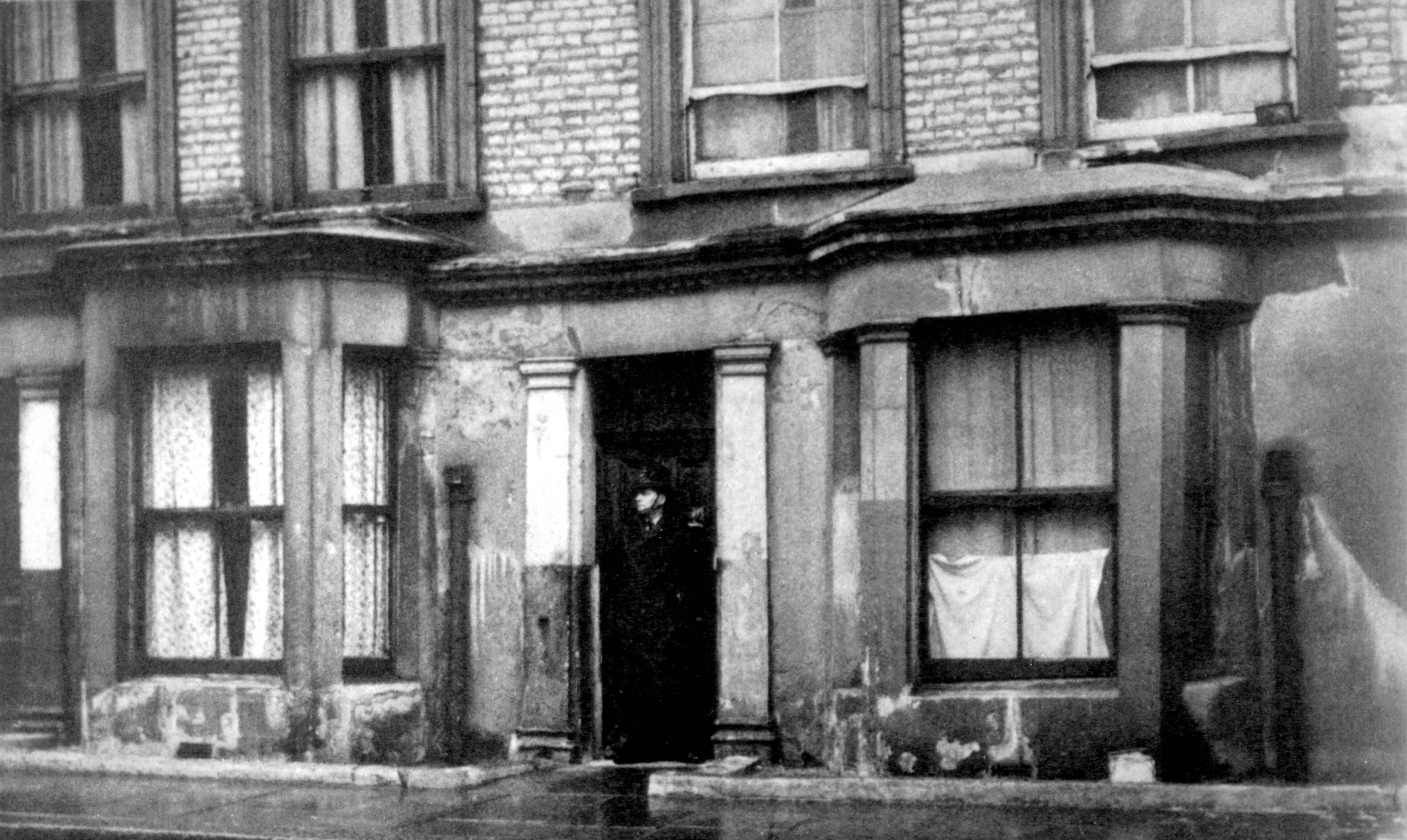 10 Rillington Place - the dismal house in which Christie and Evans lived.