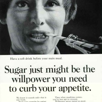 Sugar Peddling Vintage Ads: Lose Weight With Fizzy Drinks!