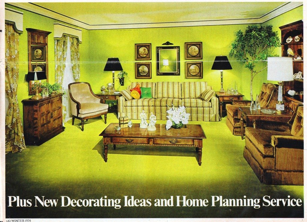 Interior Desecrations: A 1975 Home Furnishing Catalog ...