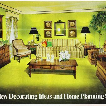 Interior Desecrations: A 1975 Home Furnishing Catalog