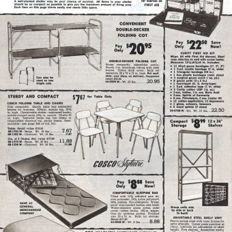You Can Survive Atomic Fallout! A Mid-Century Survival Catalog