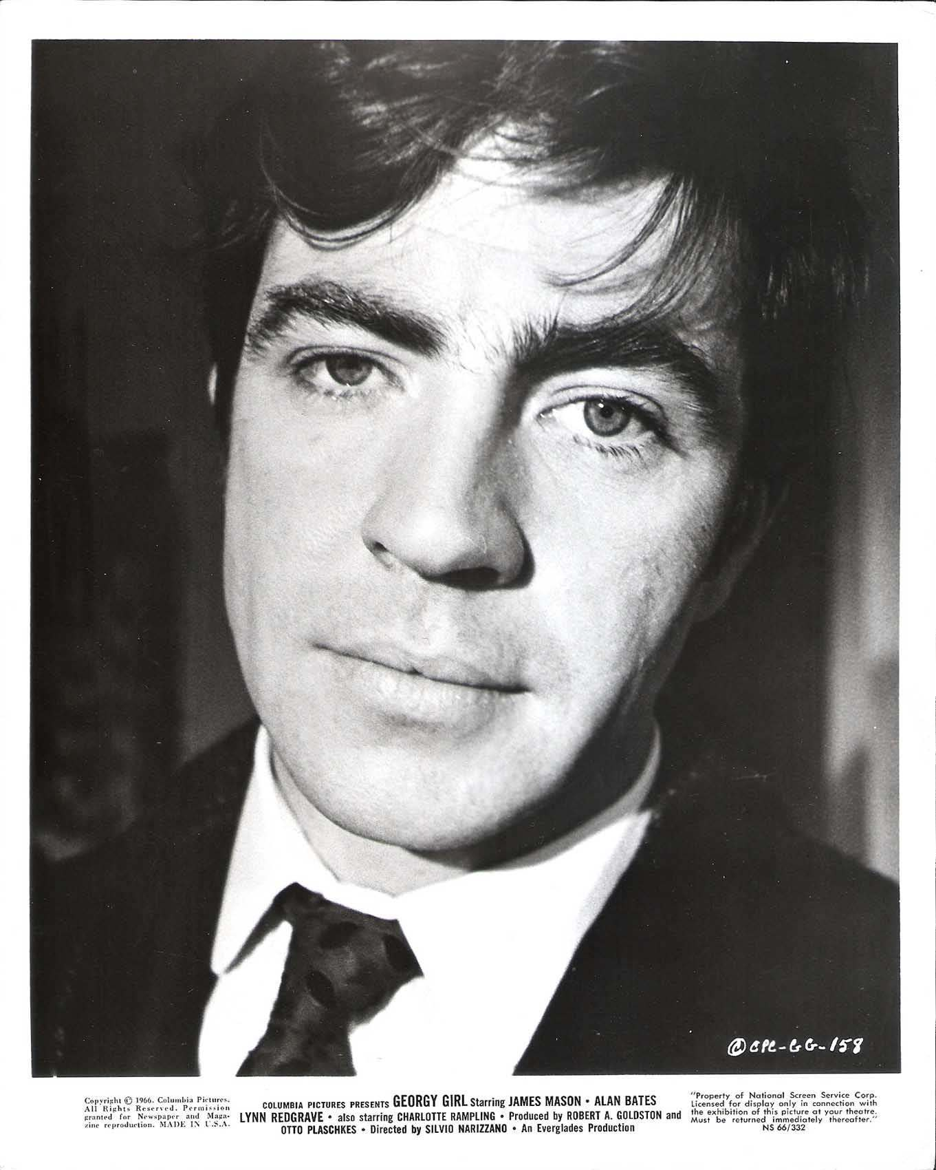 Alan Bates in Georgy Girl 2