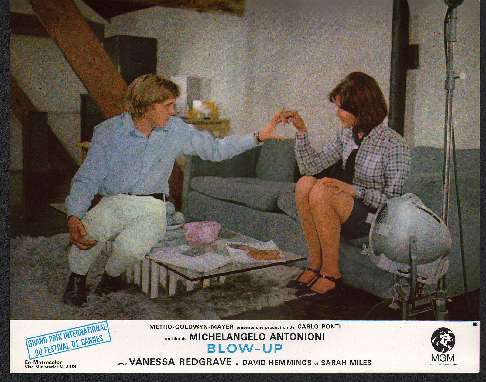 Blow Up lobby card