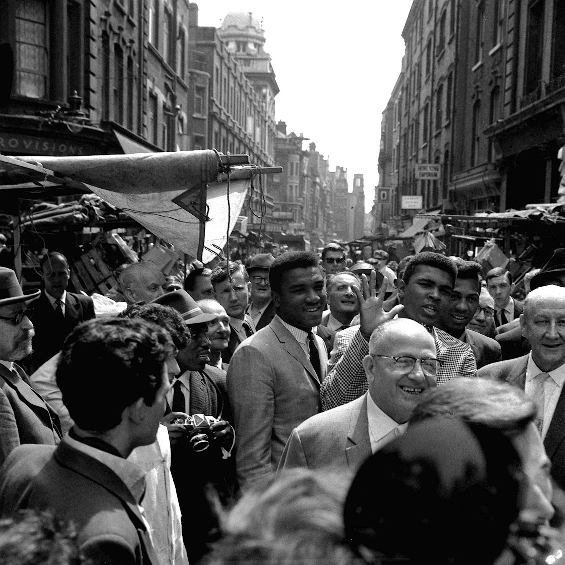 Cassius Clay Muhammad Ali London England 1963