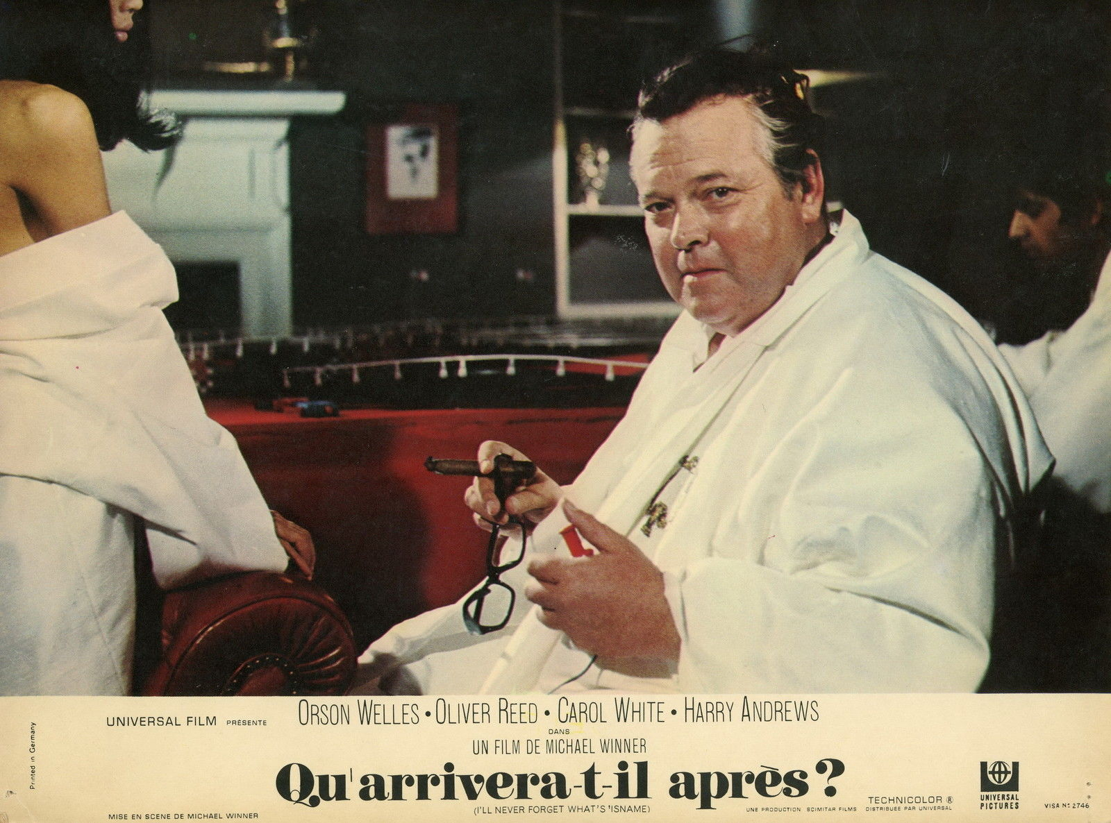 I'll Never Forget What's 'isname Orson Welles lobby Card