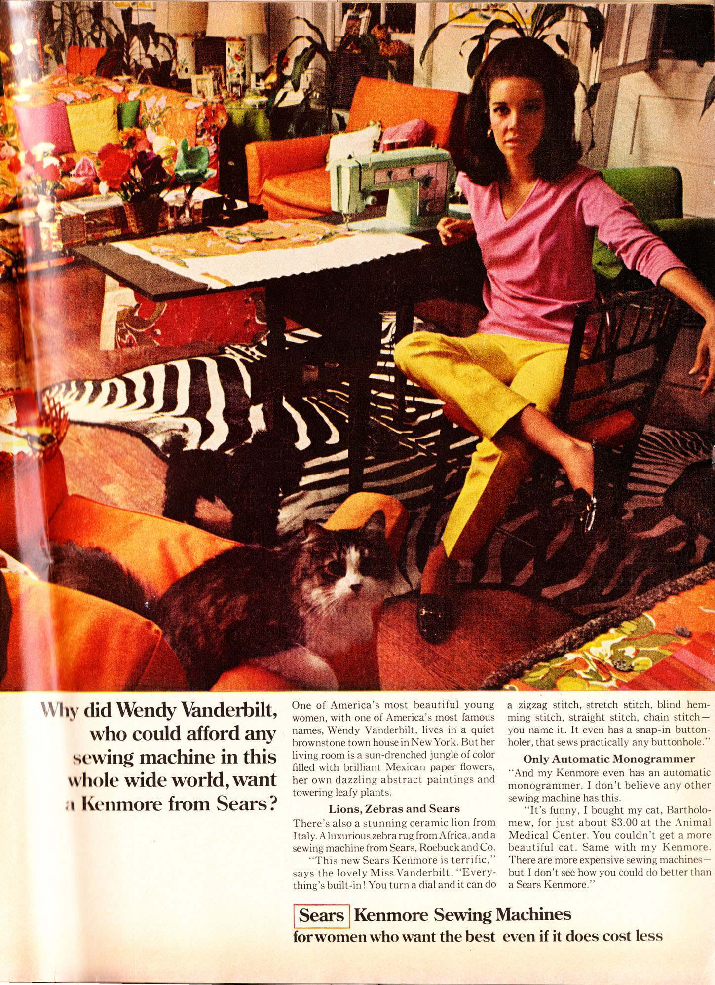 Ladies Home Journal November 1968