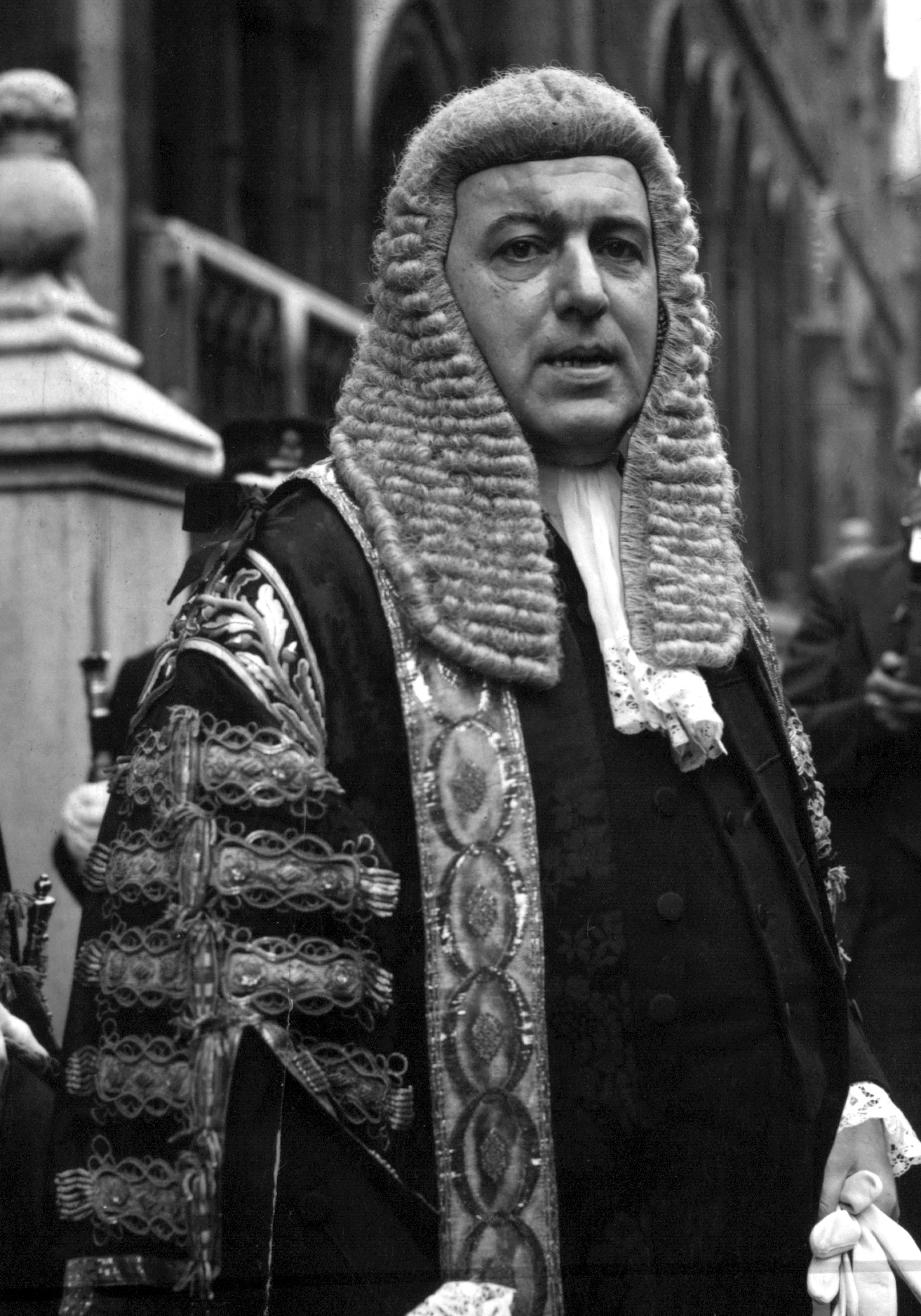 Home Secretary, Sir David Maxwell Fyfe