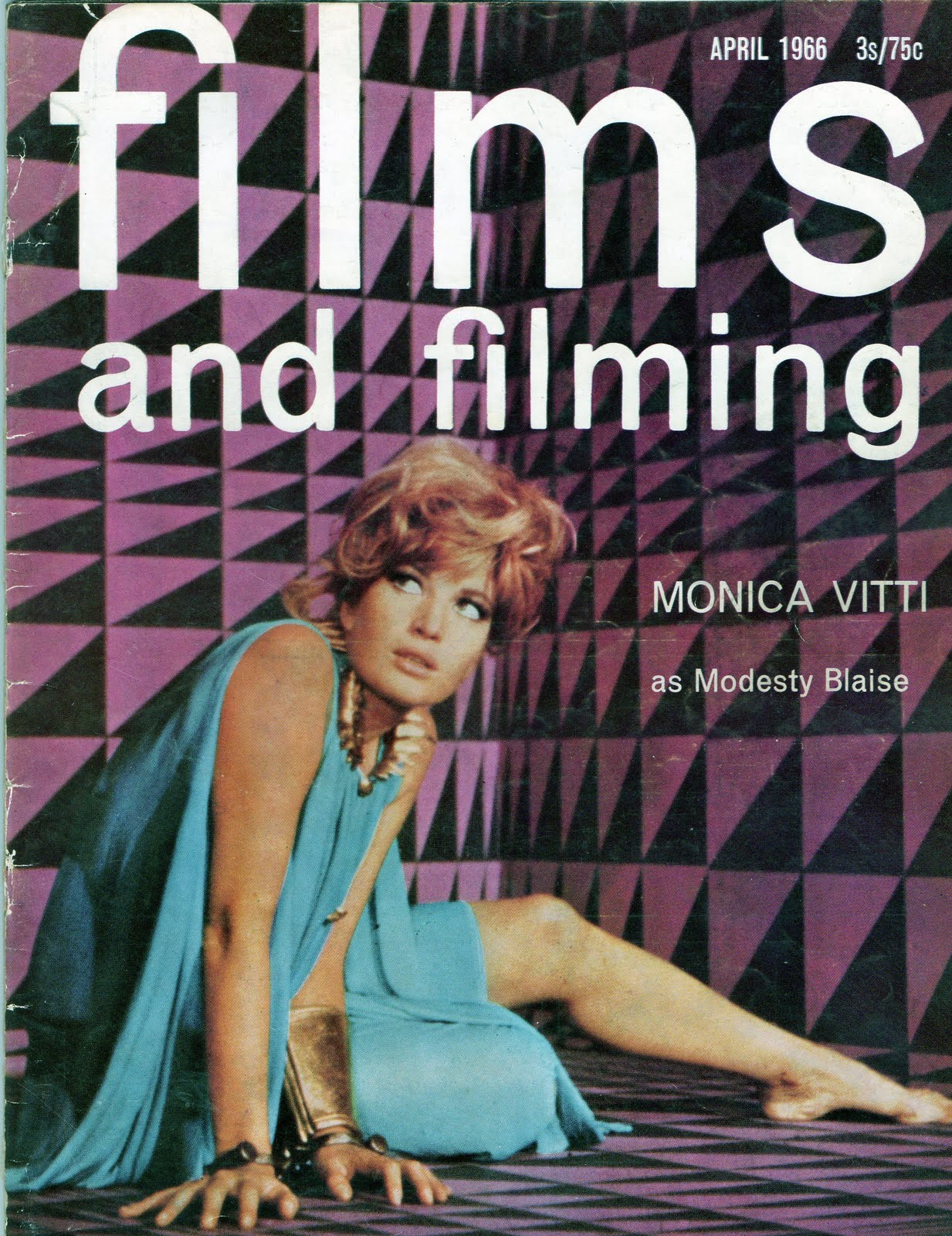 Modesty Blaise Films and Filming