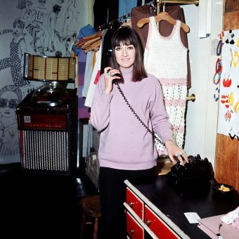 """Fun-Maker"" Pauline Fordham and her Swinging Sixties Boutique in Soho, 1966"