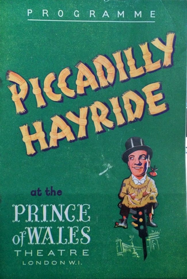 Piccadilly Hayride programme, 1946.