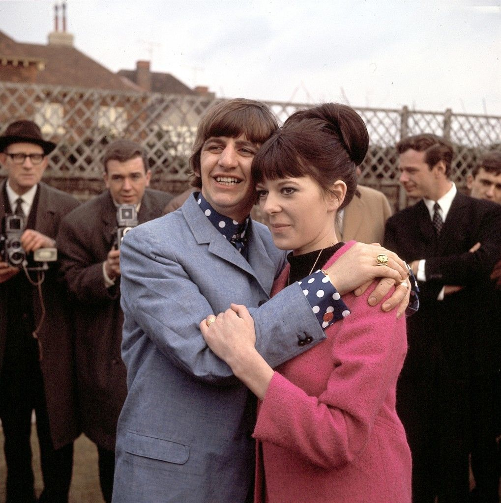 Ringo Starr and Maureen Cox