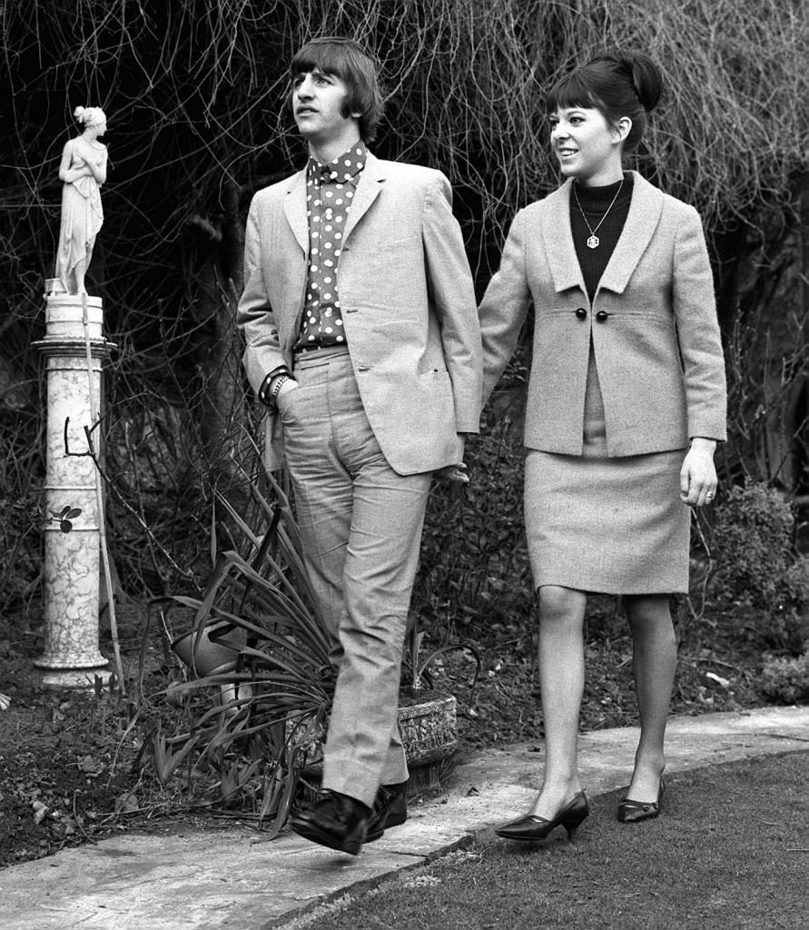 RIngo Starr and Maureen Cox Honeymoon