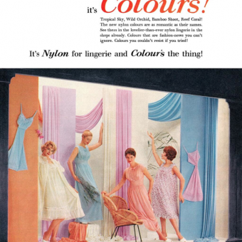 Sweat The Nightie Away With These Bri-Nylon Adverts From The 1950s And 1960s