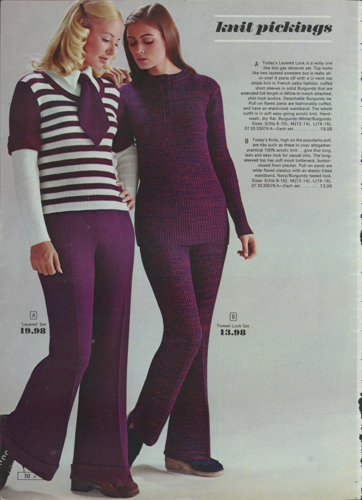 Miniskirts And Lots Of Purple: A 1972 Women's Fashion
