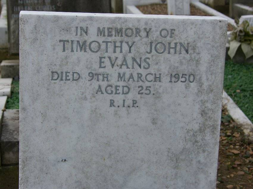 """Timothy Evans Grave"". Via Wikipedia."