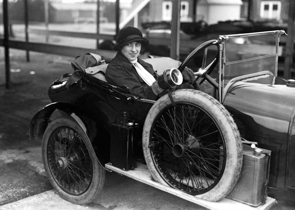 Violet Cordery, 1930. She won races in a 2.5-litre Invicta and had to be discouraged from driving a 4.5-litre version for 25 miles round the track - in reverse. She was told the car wasn't up to it and that the BARC would take a dim view of her antics. In 1929, Invicta wanted to prove the reliability of its cars so she and her sister drove a 4.5-litre model round the track for 30,000 miles at an average speed of 61.57mph.