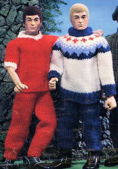 Knit One Purl Kill 1970s Emasculating Action Man