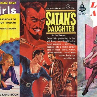 Abnormal Tales: 33 Vintage Lesbian Paperbacks From the 50s And 60s
