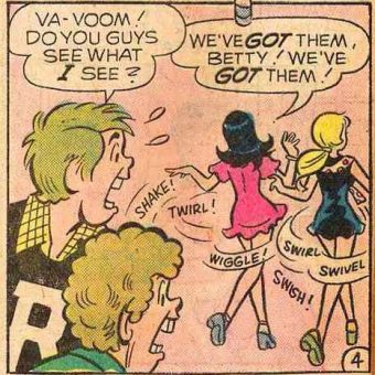 The Lust Filled Pages of Archie Comics in the 1970s