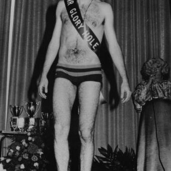 Sashes And Tashes: Mr Glory Hole Is Crowned