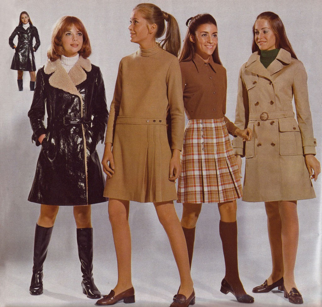 Miniskirt Monday 3 The Mini Through The Years 1968 1974