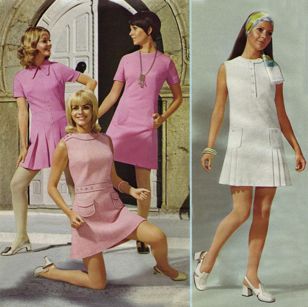 Miniskirt Monday #3: The Mini Through The Years 1968-1974