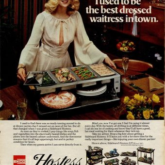 The Hostess with the Mostest and her Self-Heating Trolley