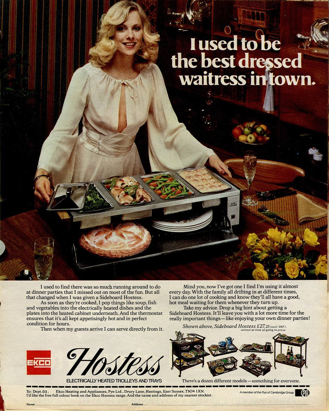 Hostess Trollies 1976