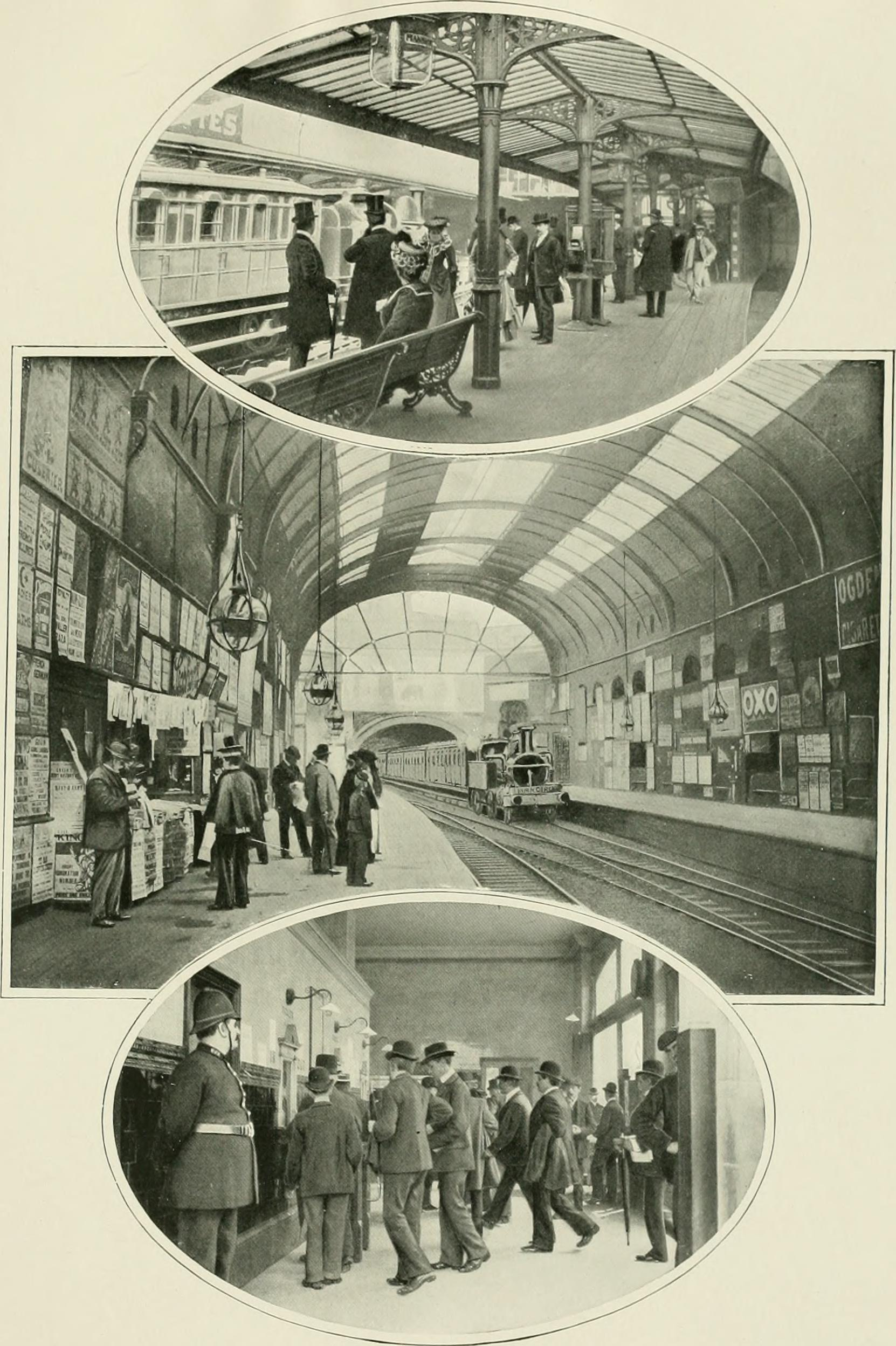 Mansion House, Sloane Square and Shepherd's Bush stations.