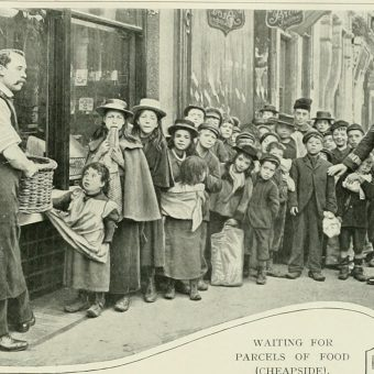 Pictures from 'Living London' by George R. Sims, published in 1902