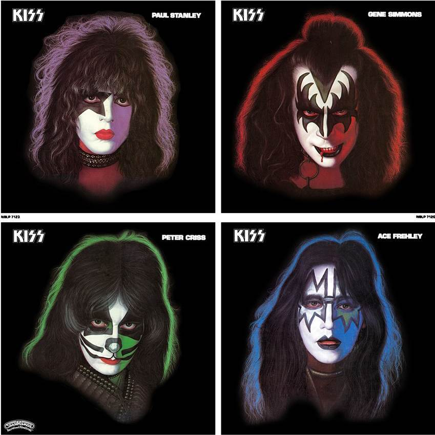 kiss solo records