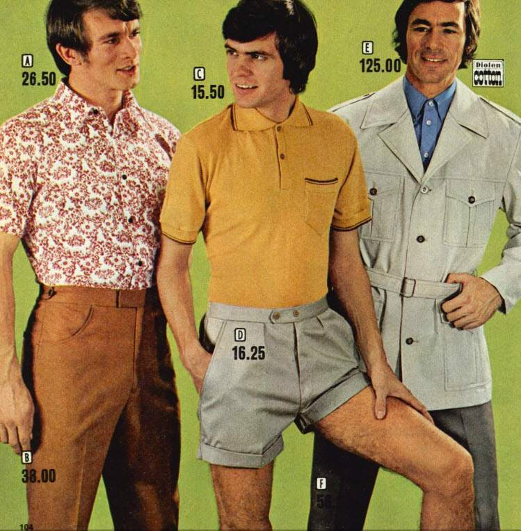 An Unsightly Mess Men S Shorts In The 1970s Flashbak