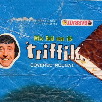 In The 1970s You Could Buy A Mike Reid 'Triffik' Ice-Cream