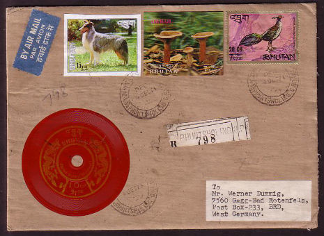 In 1972 Bhutan Relased These Vinyl Stamps That Played The