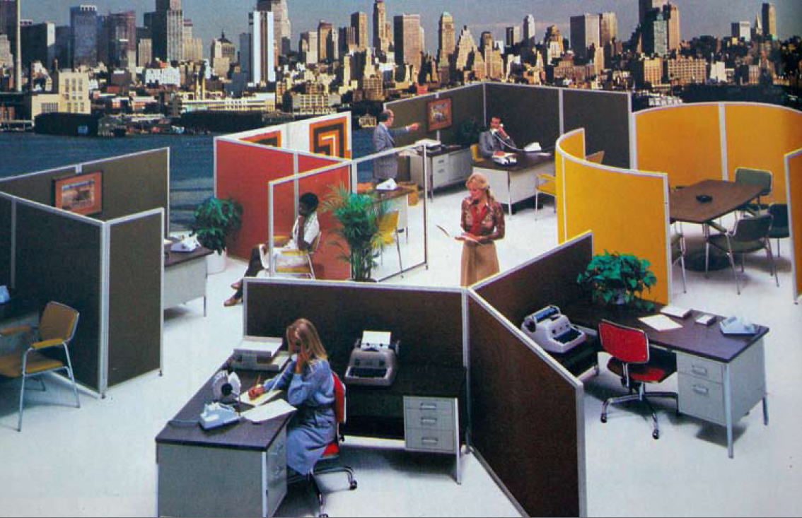 5 major ways the office has changed since the 1970s flashbak for 70s office design