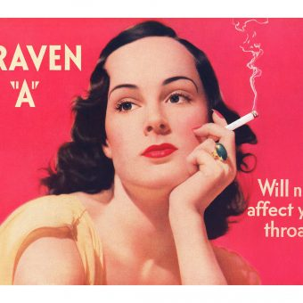 For Your Throat's Sake! Ten Beautiful Craven 'A' Cigarette Ads from the 1930s.