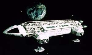 Eagle Transporter spaceship from Space: 1999