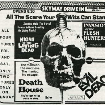 Horror Movie Newspaper Adverts of the 1960s-70s