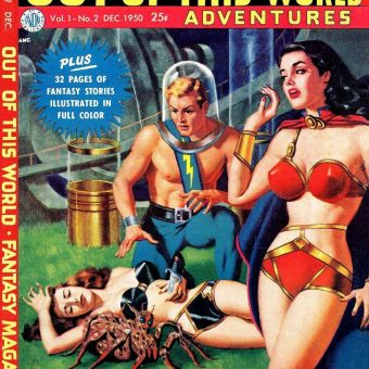 20 Outstanding Mid-Century Sci-Fi Pulp Covers
