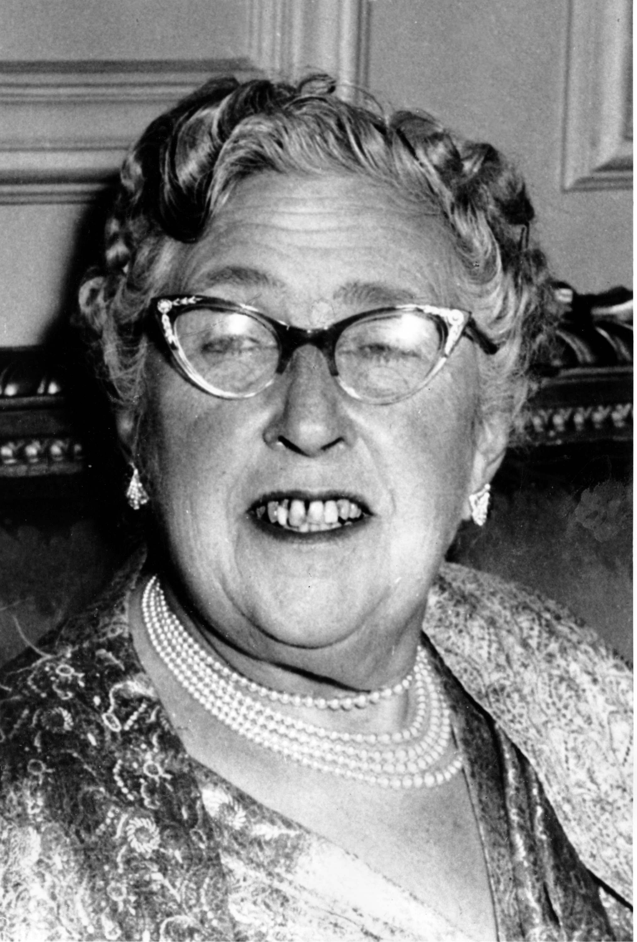 Agatha Christie in 1956