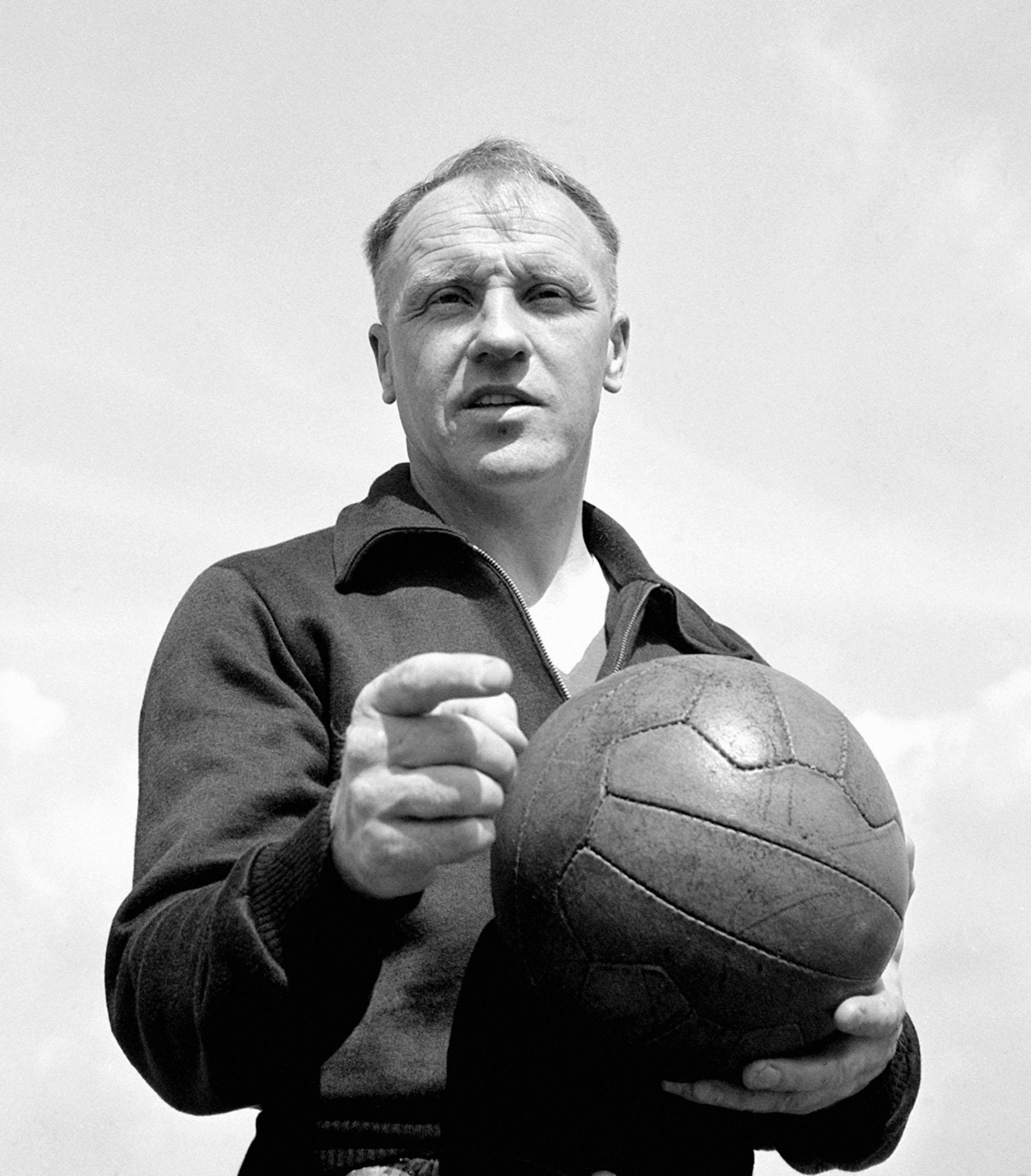 Bill Shankly has just signed the first ever contract of a managerial career taking in Carlisle, Workington, Grimsby, Huddersfield, and Merseyside. It is to be a three-year contract for Liverpool.