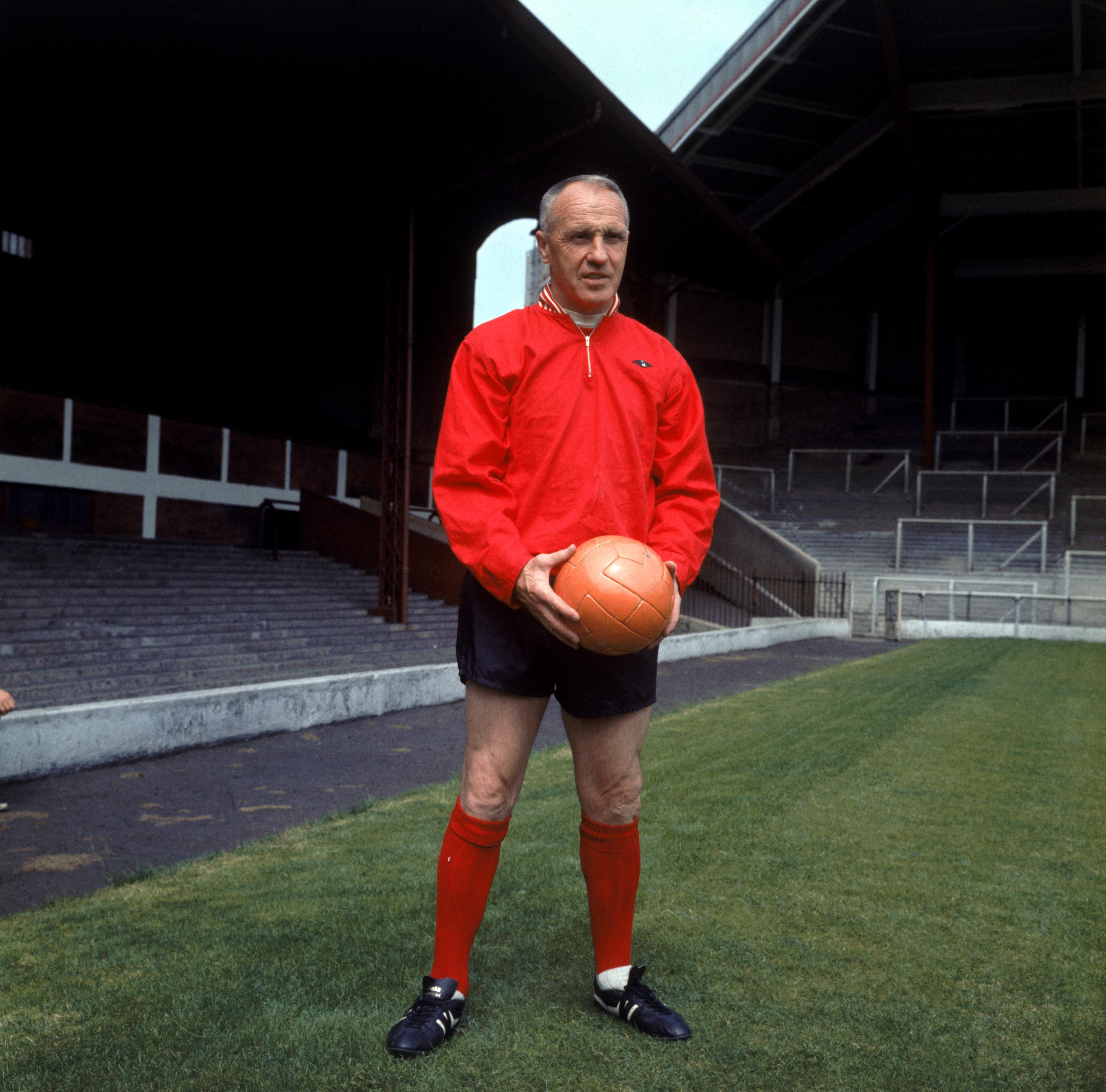 Bill Shankly at Anfield, 1969.