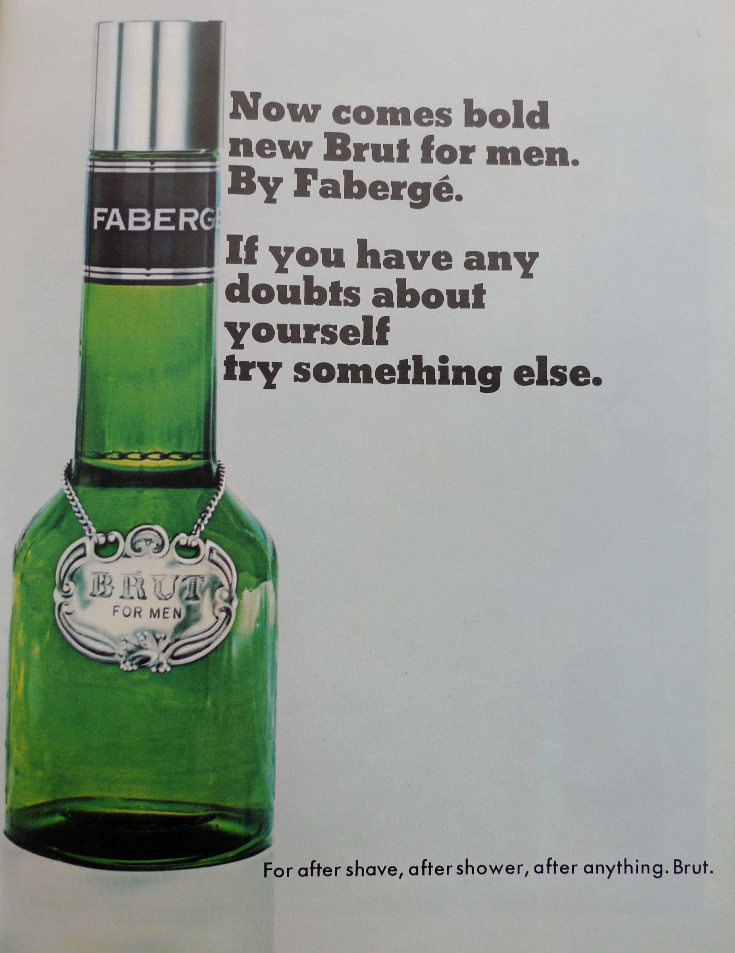 Shoreditch Art: 15 Manly Aftershave Ads From The Sixties And Seventies